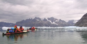 Kayaking along Greenland's Forbidden Coast