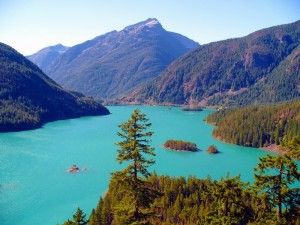 Diablo Lake, WA, site of the North Cascades Environmental Learning Center