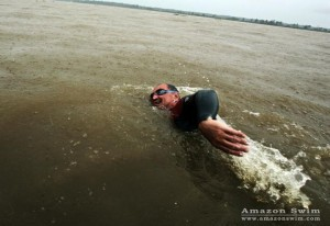 Martin Strel spent 66 days swimming the Amazon