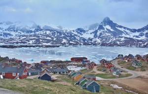 Tassilaq, main town in East Greenland
