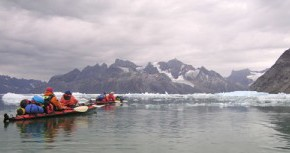 The upside (??) of global warming for Arctic explorers