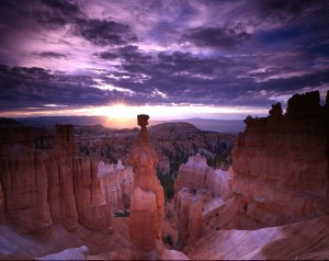 Thor's Hammer at sunrise, Bryce Canyon National Park. Photo: National Park Service
