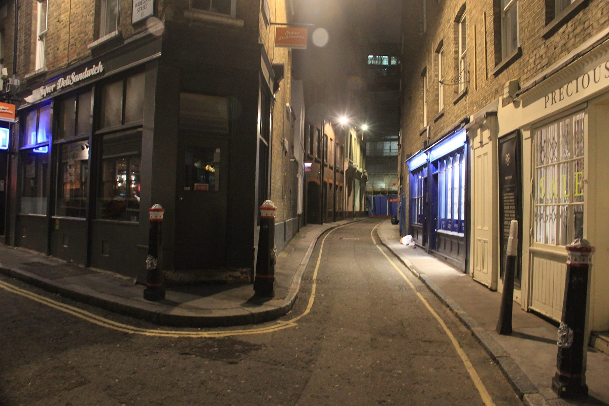 Jack The Ripper Alley.