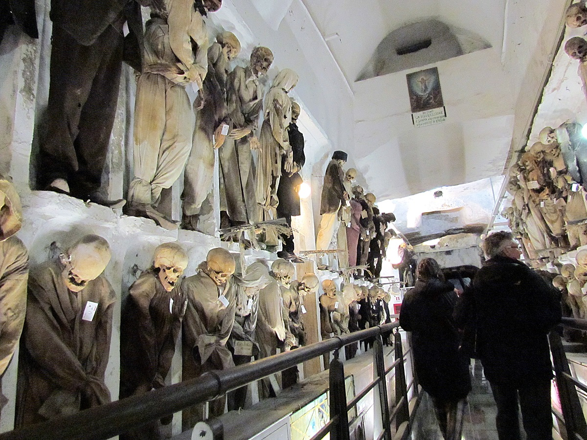 Capuchin Catacombs of Palermo, Italy