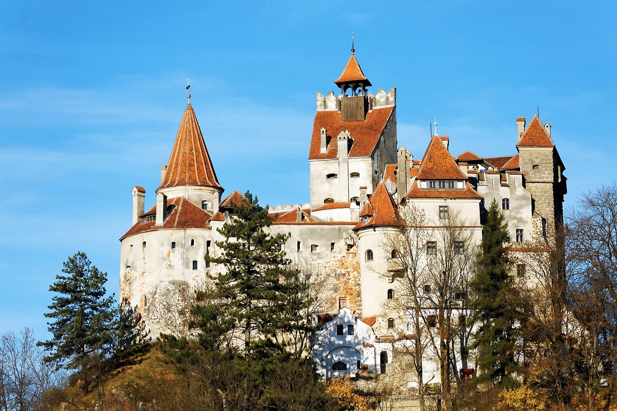 Bran Castle, Romania, the legendary home of Dracula