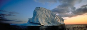 Icebergs in Greenland can be as big as ships. Photo: Greenland Tourism