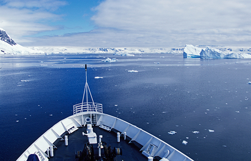 IAATO says there has been an uptick in sightings of yachts in Antarctic waters. ©Colin McNulty