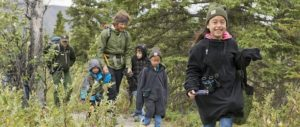 Denali National Park and Preserve family camp.