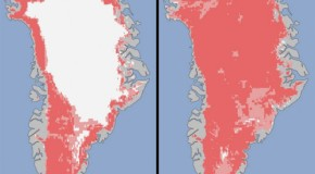 """Extreme Melt"" Observed on Greenland Ice Sheet"