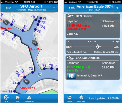 The Ten Most Useful Travel Apps