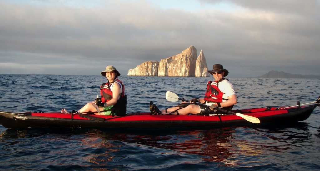 Kayaking in the Galapagos Islands