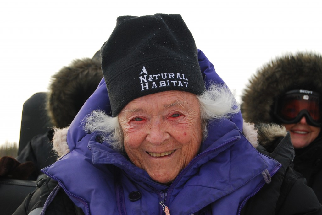 Elsa Bailey on NHA polar bears trip