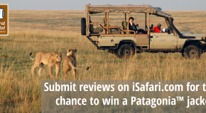 Submit Reviews on iSafari.com for the Chance to Win a Patagonia Jacket!