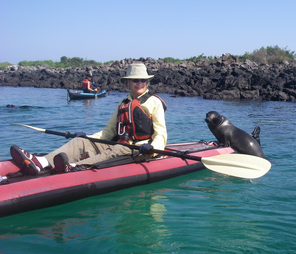 Catching a ride in the Galapagos Photo © Sandy Draus