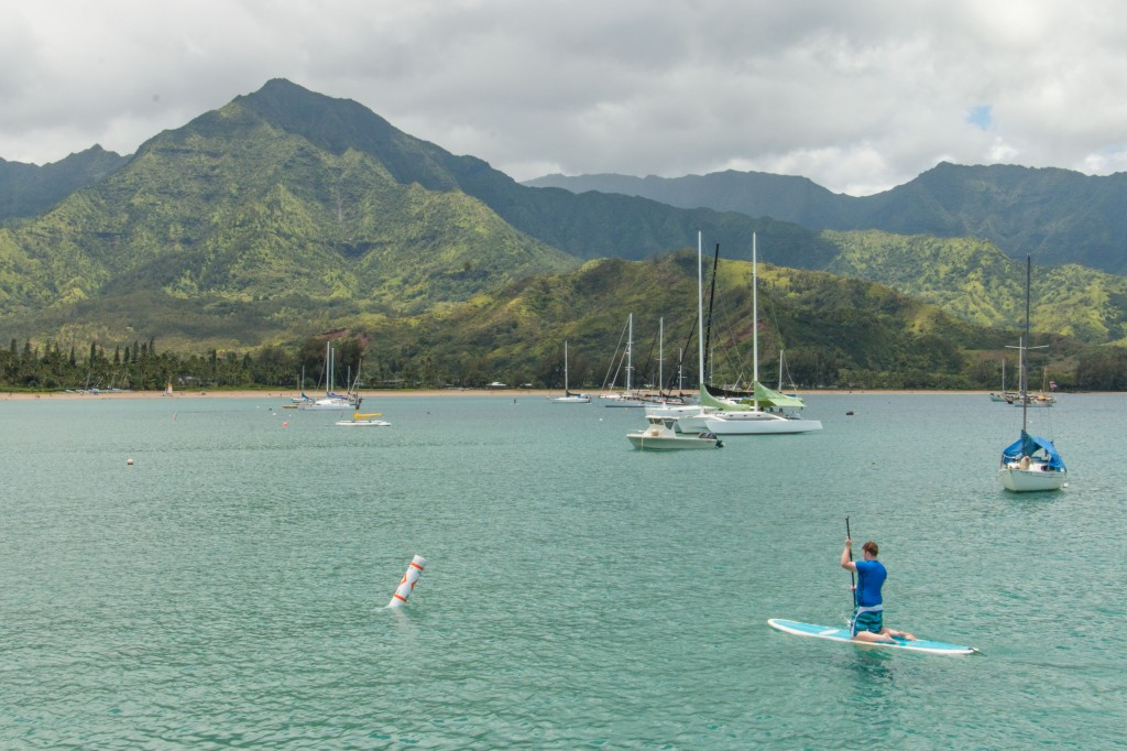 CJM paddleboarding at Hanalei Bay sm (1 of 1)