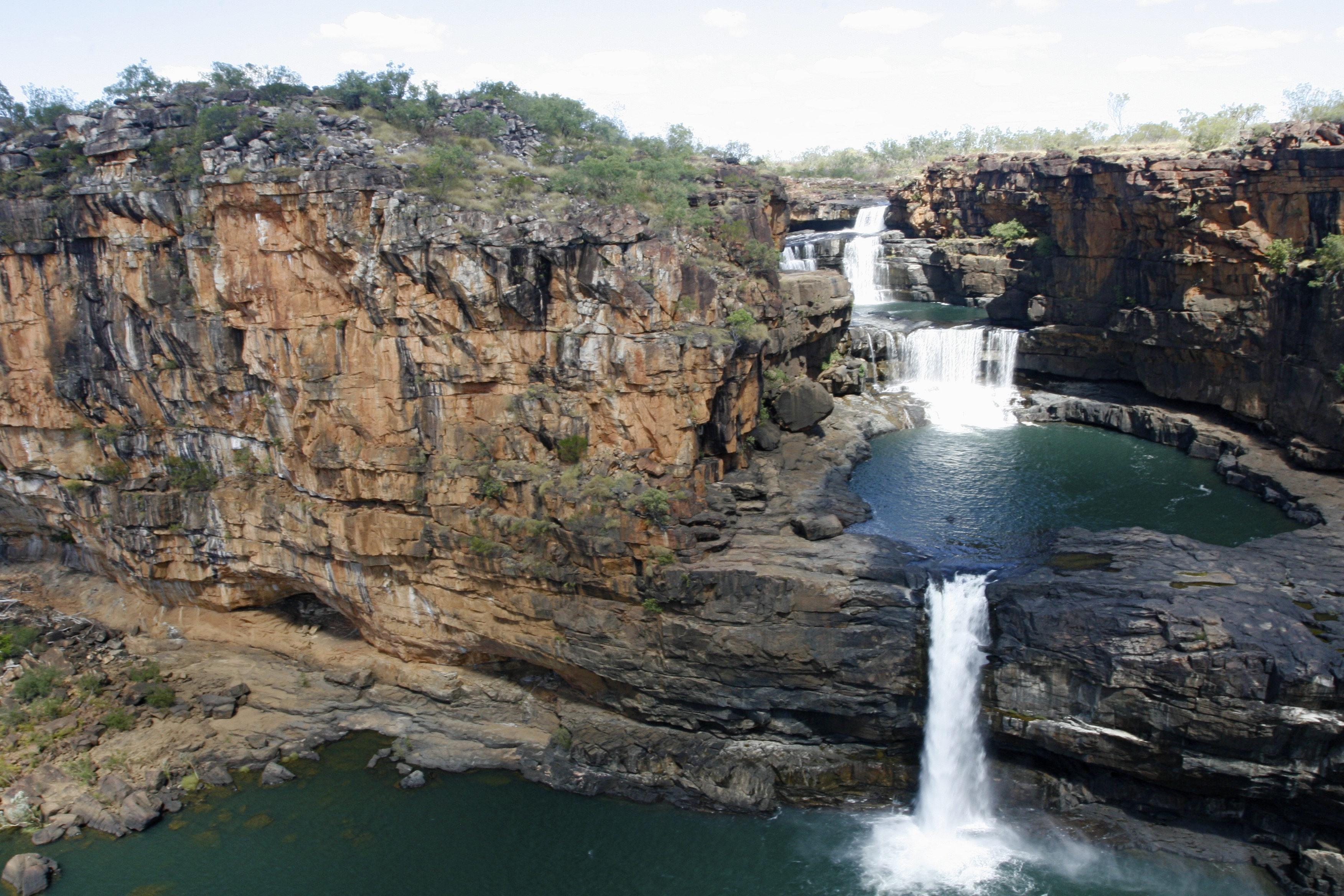 Plan to stop on Mitchell Plateau for a great view of Mitchell Falls. © Mike Osmond/Zegrahm Expeditions