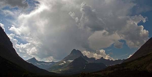 "Montana's Glacier National Park is part of the Waterton-Glacier International Peace Park: 1,800 square miles of what naturalist John Muir called ""the best care-killing scenery on the continent."" ©Candice Gaukel Andrews"