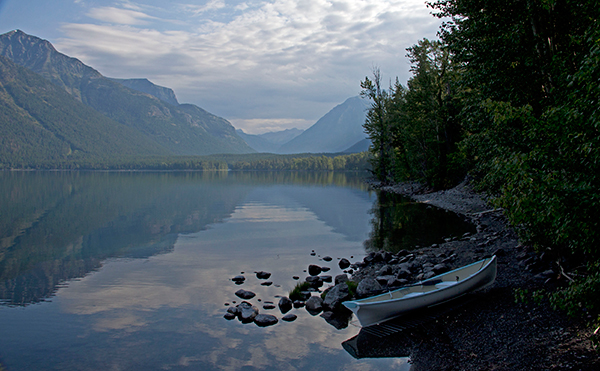 Glacier National Park doesn't come on strong like Yosemite or Yellowstone; it quietly sneaks up on you. ©Candice Gaukel Andrews