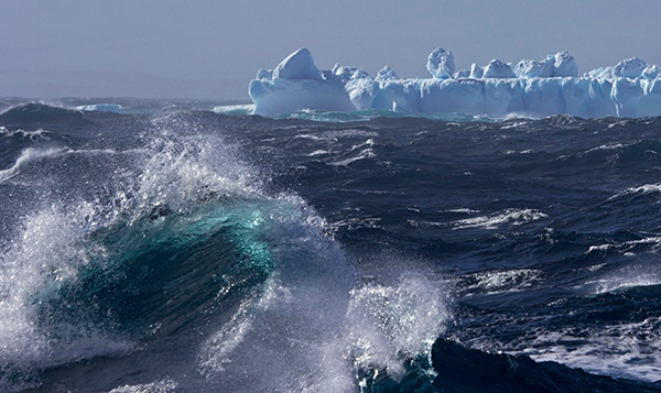 Antarctica and Greenland, home to the world's ice sheets, are the chief source of the world's icebergs. ©Candice Gaukel Andrews