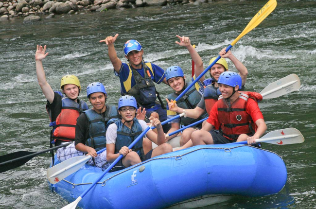 Whitewater rafting Sarapiqui River Costa Rica