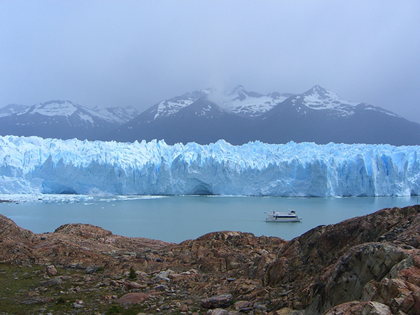 The Patagonian ice fields are some of the largest on Earth. ©Jennifer Bravo