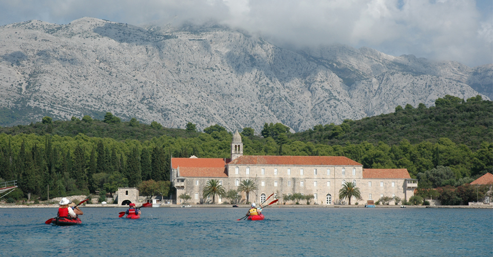 Kayaking in Croatia - Korcula Island
