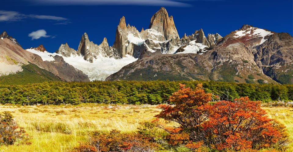 Fitz Roy Massif in Patagonia
