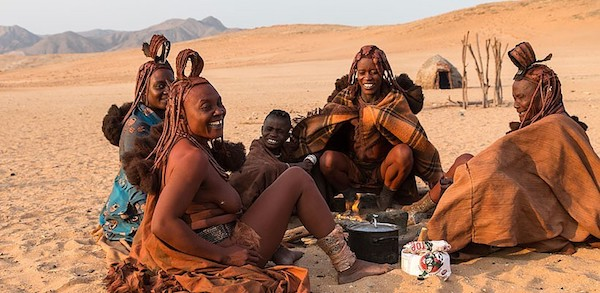 Women of the Himba tribe in Namibia.