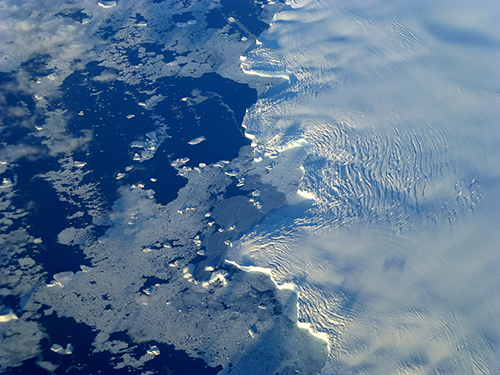 Around Antarctica, sea ice is increasing. ©NASA Goddard Space Flight Center