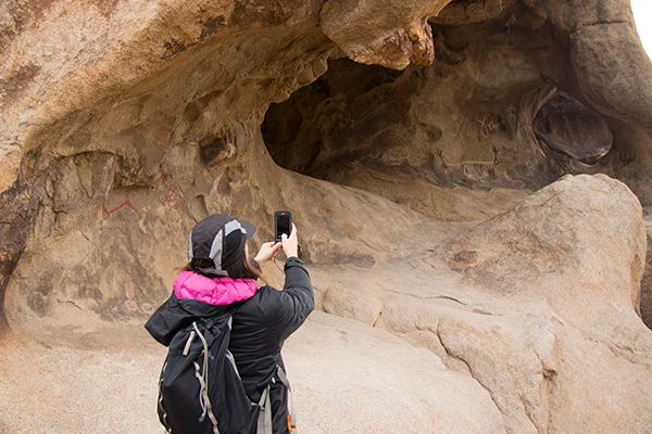 Millennials prefer connecting to national parks primarily through technology. ©NPS/Brad Sutton