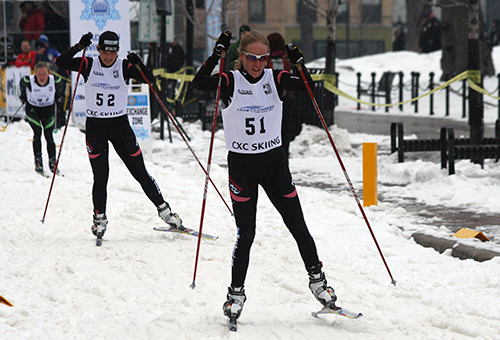 The annual American Birkebeiner, a cross-country ski race held in Wisconsin, skiers from around the world—but for how long? ©Candice Gaukel Andrews