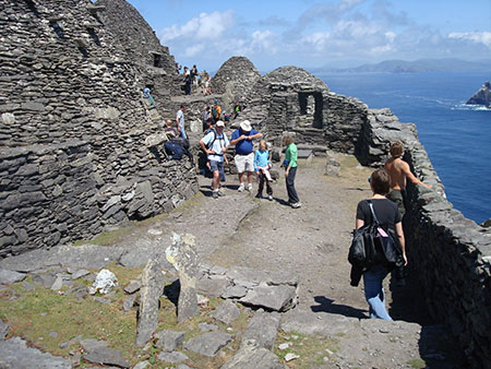 Visitor numbers are limited to about 15,000 a year to the island itself. Others can opt for boat trips around Skellig Michael. ©Don Richards, flickr