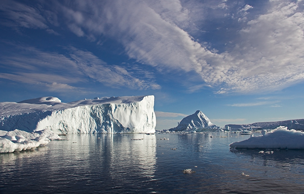 "According to a July 2016 article in the ""Geophysical Research Letters"" journal, the Greenland ice sheet is losing 110 million Olympic-size swimming pools worth of water each year. ©Candice Gaukel Andrews"