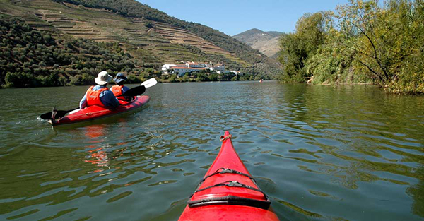 Kayaking the Douro River in Portugal