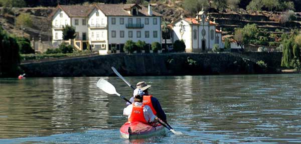 Kayaking the Douro Valley in Portugal