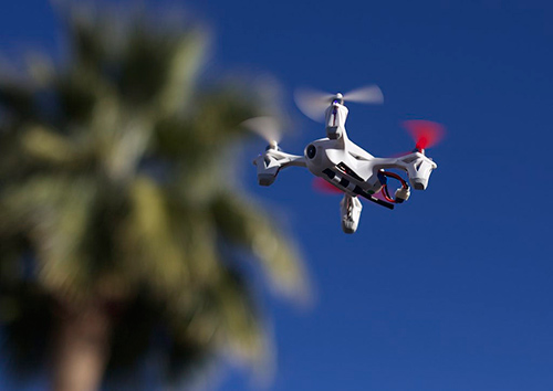 Personal drones have been used to smuggle contraband into prisons and disrupt commercial airports. ©Andrew Turner, flickr