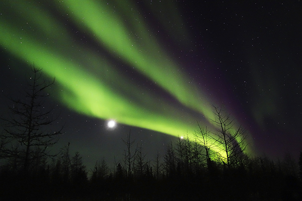 Aurora Borealis near Churchill