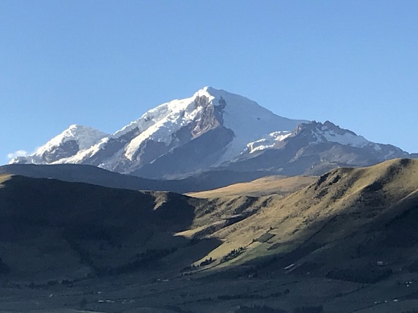 Andes mountain in Ecuador