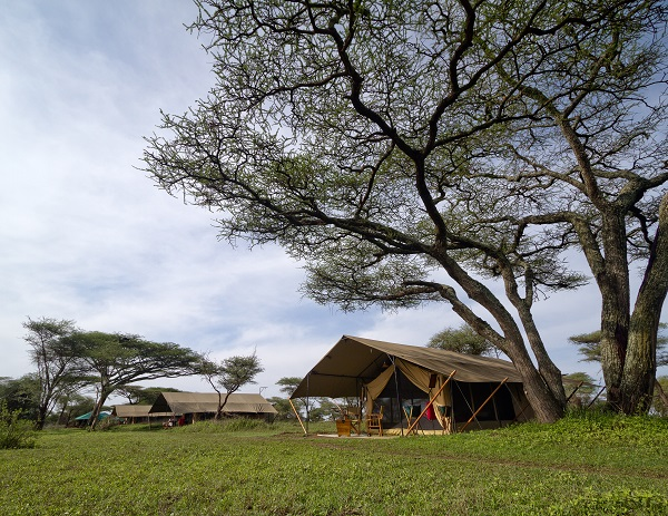 Mobile Safari Camp in the Serengeti, Tanzania