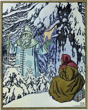 Father Frost and the Step daughter Russian Fairytale