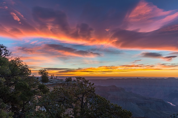 Sunrise North Rim Grand Canyon