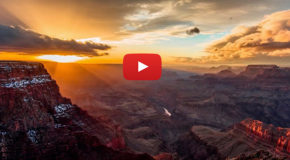 Video: Walking on Clouds in Grand Canyon National Park
