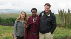 Meeting Maasai in Tanzania
