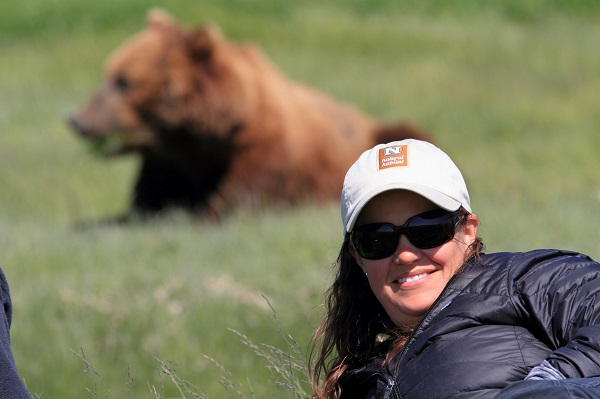 Up close with grizzly bears in Alaska
