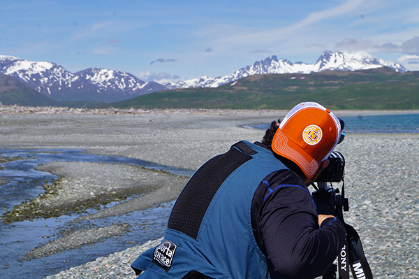 Natural Habitat Adventures with CNN at Amakdedori Creek, Alaska