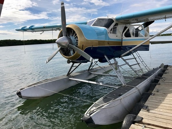 Float plane to Katmai, Alaska