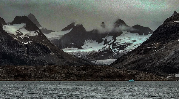 East Greenland mountains