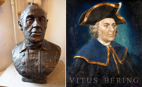 Vitus Bering by Институт Археологии РАН (Institute of Archaeology in Russian Academy of Sciences)