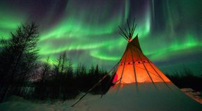 A Surge in Solar Activity Predicts Stellar Northern Lights for the Next 5 to 6 Years