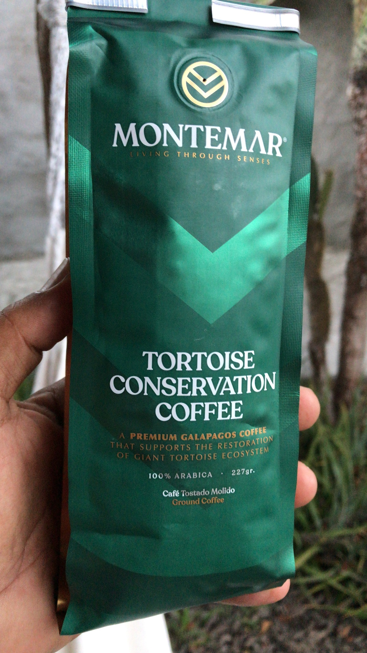 Tortoise Conservation Coffee in the Galapagos